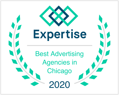 Expertise Best Advertising Agency in Chicago: Killian Branding Badge